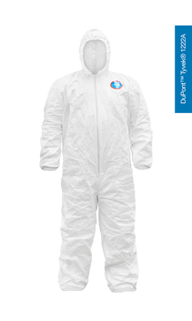 N7E5 Coverall with zipper Made with DuPont™Tyvek® 1222A