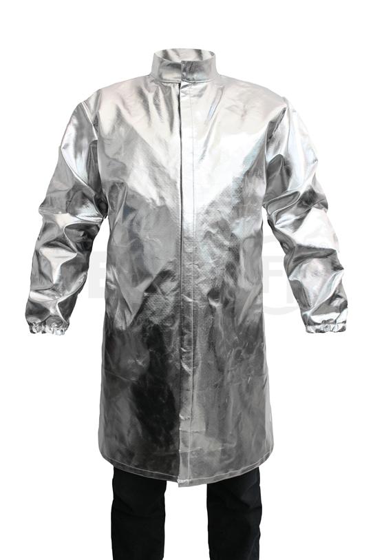 Bata aluminizada color plata marca Texin