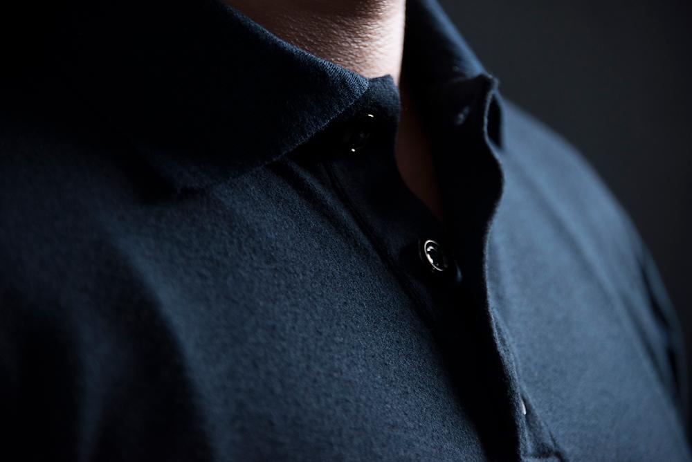 Camisola azul marino marca Texin confeccionada con tela nomex comfort.