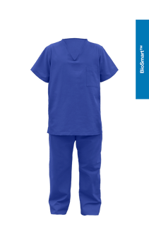 N7Y2 Two-piece surgical suit with pockets