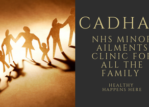Minor Ailments Clinic for Hayfever at Cadham Pharmacy Centre Glenrothes.  Cadham First for Health