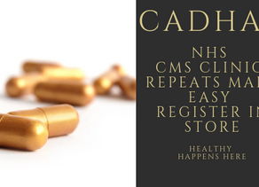 NHS CMS SERVICE NO MORE REMEMBERING TO ORDER AND GET YOUR MEDICINES IN SYNC  & 24/7 COLLECTION