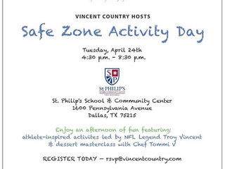 """Vincent Country """"Safe Zone"""" Community Day"""