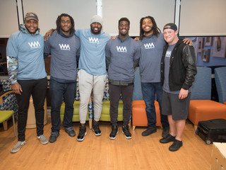 Whitney Mercilus and the WithMerci Partners with Texas Children Hospital to Feed Families and Childr