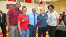 Whitney Mercilus and the WithMerci Foundation Back to School Event Returning 2 Learning