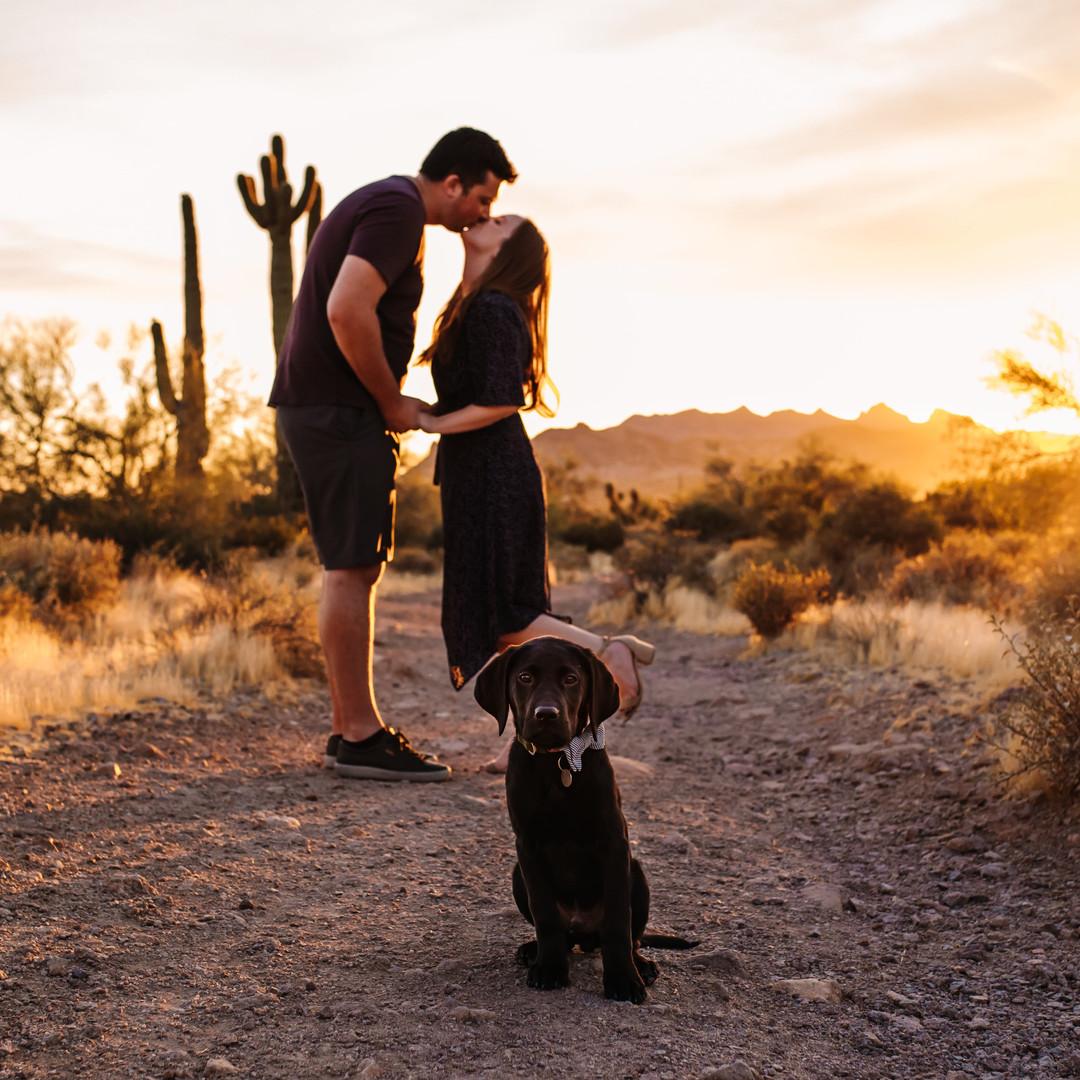 Arizona Engagement Photos