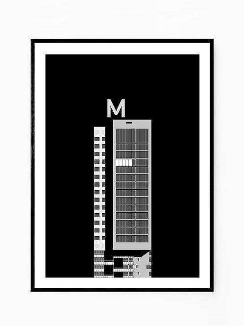 Woontoren Montevideo