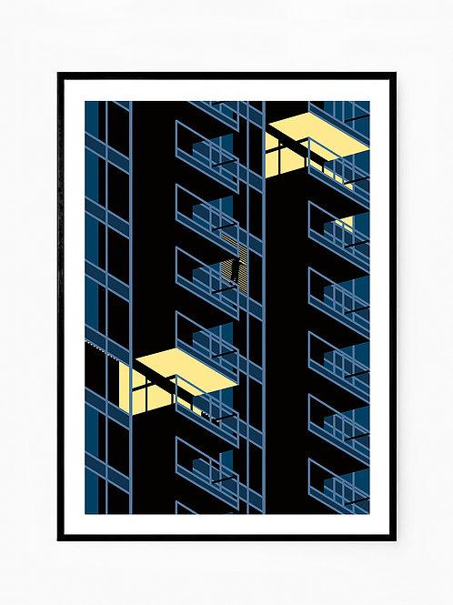 Woontoren de B-tower