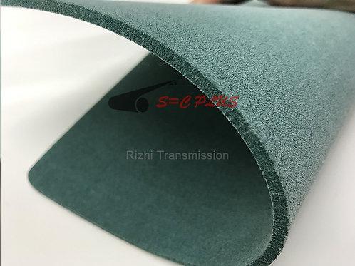 Single-side Green Felt Belt Thickness 2.5mm