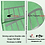 Thumbnail: Skiving splice-Double-side Green Felt Belt Thickness 4.2mm