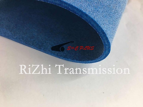 Single-side Blue Felt Belt Thickness 4.0mm