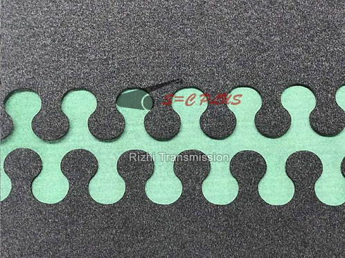 Circular-Arc Joint Kit Grey Conveyor Felt Belt Thickness 5.5mm