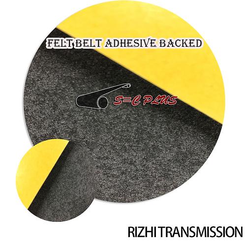 Felt Belt Adhesive Backed Single-side Grey Thickness 2.0mm