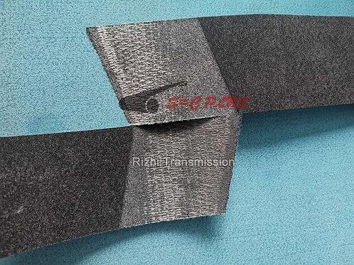 oblique grinding belt joint process