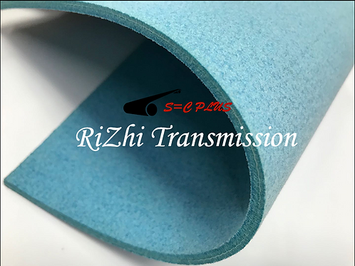 Double-side Blue Felt Belt Thickness 4.0mm