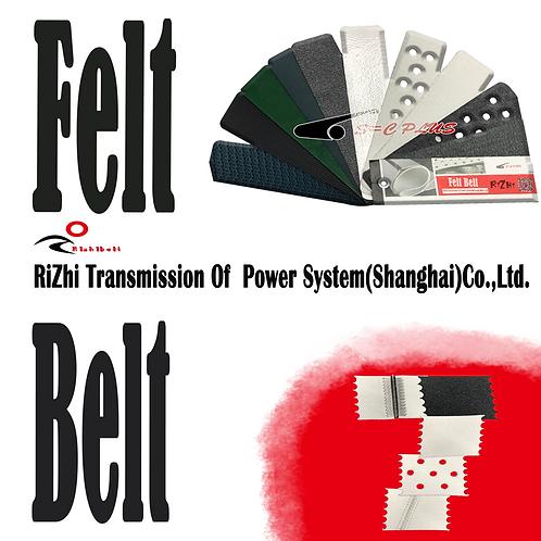 White Felt Belt Thinkness 2.5mm