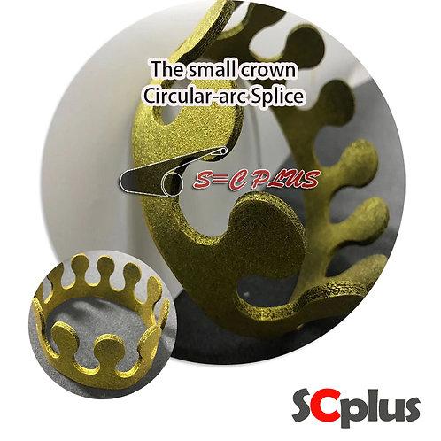 Circular-arc Joint Grey Felt Belt Thickness 2.5mm