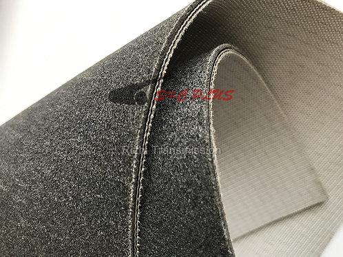 Single-side Grey Felt Belt Thickness 3.2mm