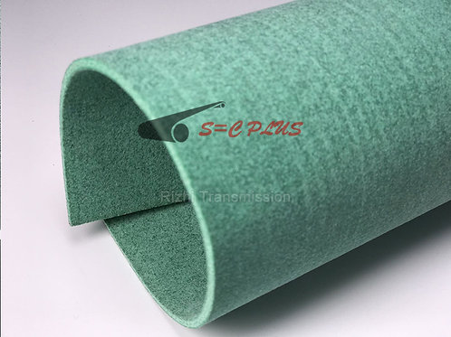 Single-side Green  Felt Belt Thickness 4.0mm