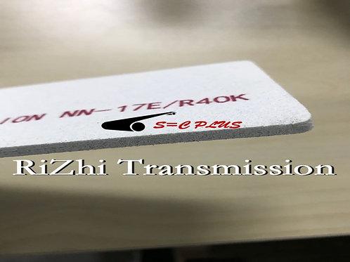 Double-side White Felt Belt Thickness 4.0mm