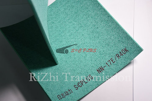 Double-side Green Felt Belt Thickness 4.0mm