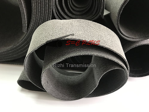 no strong layer grey conveyor felt belt 4.0mm