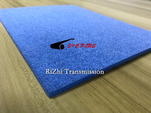 Single-side Blue Felt Belt Thickness 4.0mm