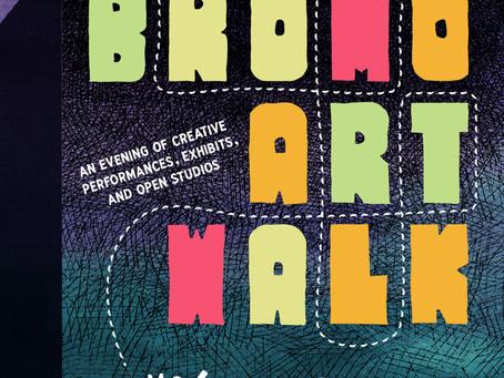 Event Spotlight : Bromo Art Walk Artists