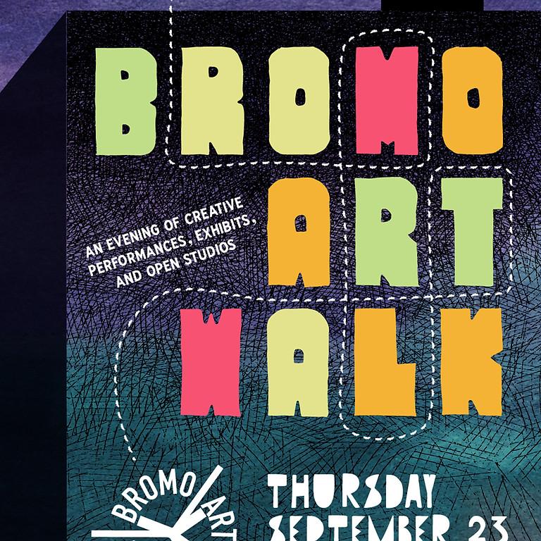 Bromo Arts Walk