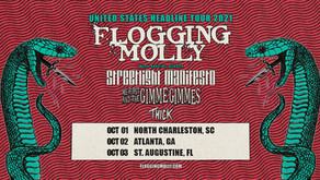 On Tour with Flogging Molly