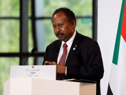 Sudan's prime minister warns of risk of civil war