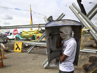 42 killed in Colombia protests, human rights agency says