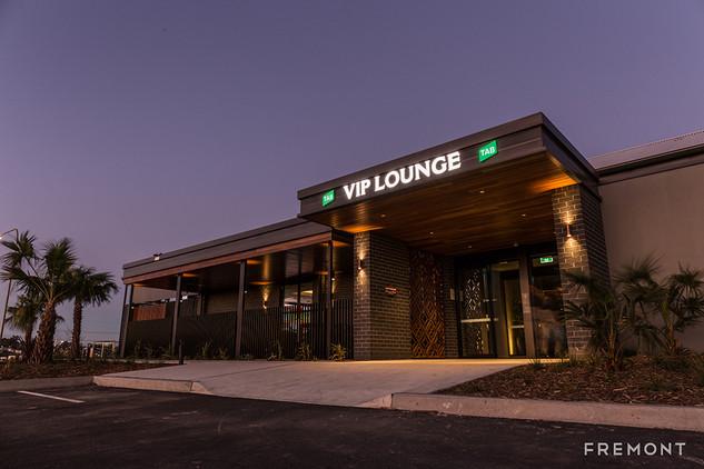 Gregory hills VIP Lounge illuminated bui