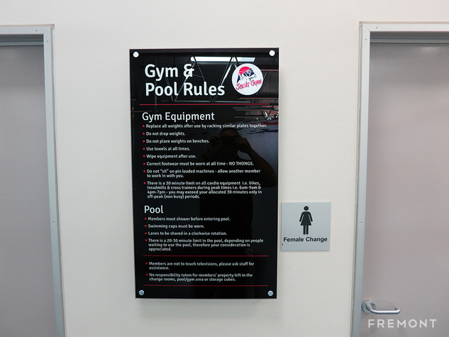 Seals gym rules compliance.jpg