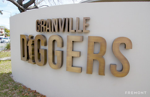 Granville Diggers 3D fabricated sign.jpg