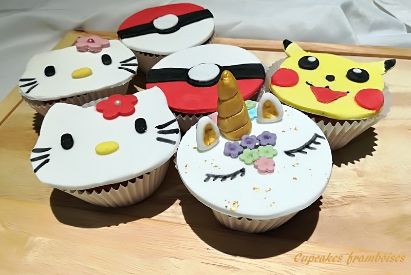 cupcakes kawaï