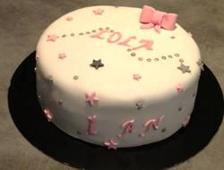 Cake design Lola 1an