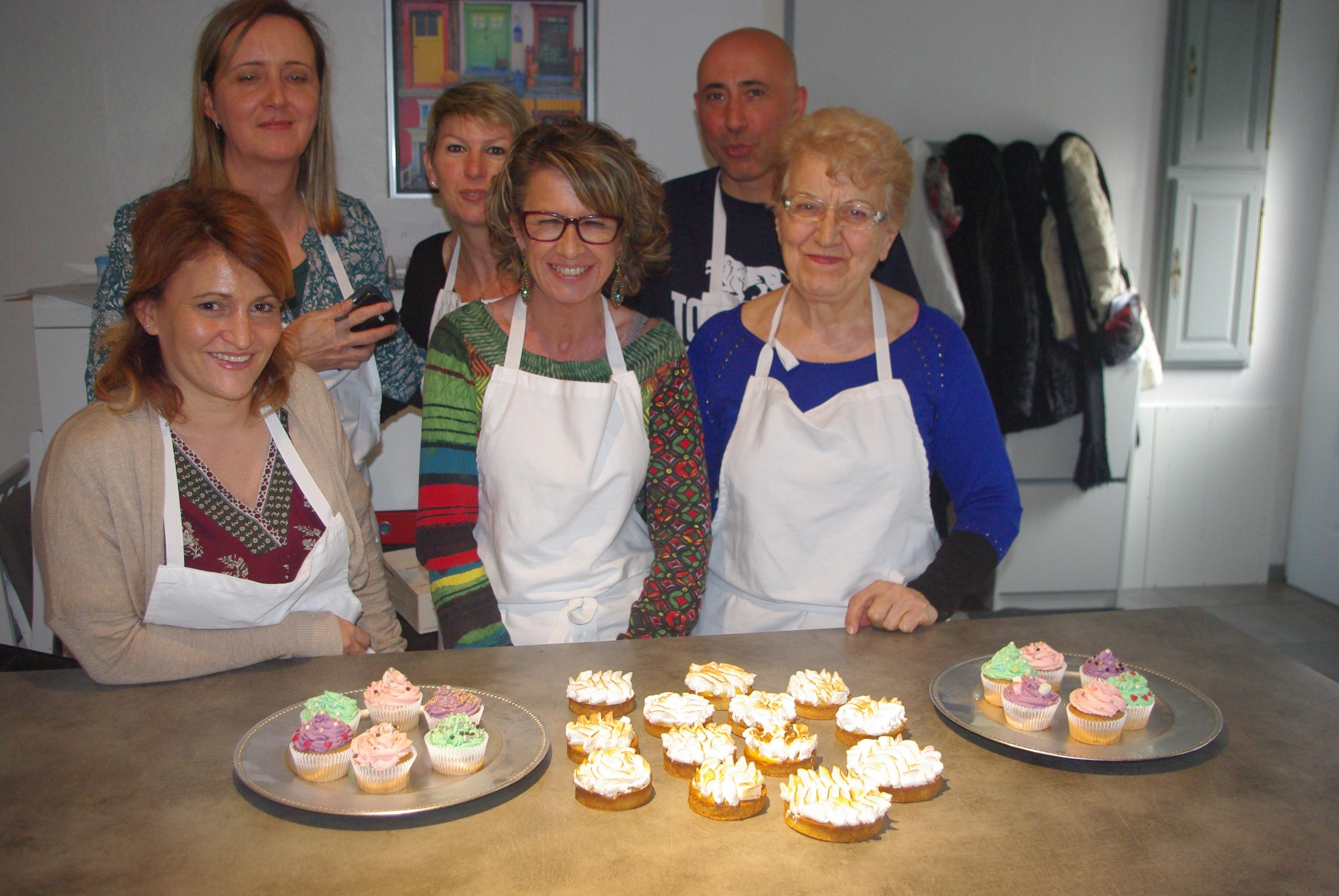 Atelier tarte au citron cupcakes