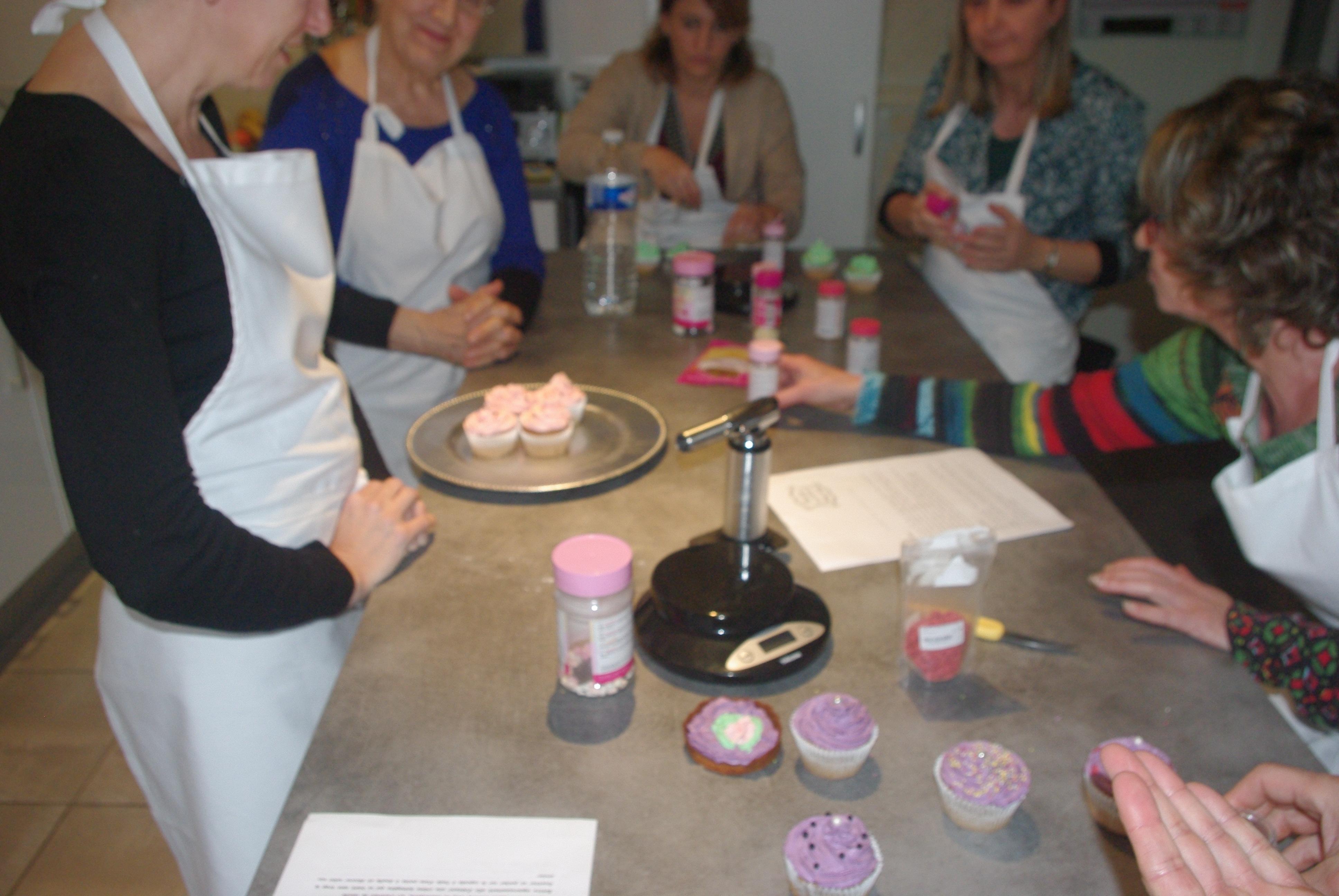 Atelier Cupcakes tarte citron