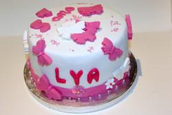 Cake design Lya 5 ans