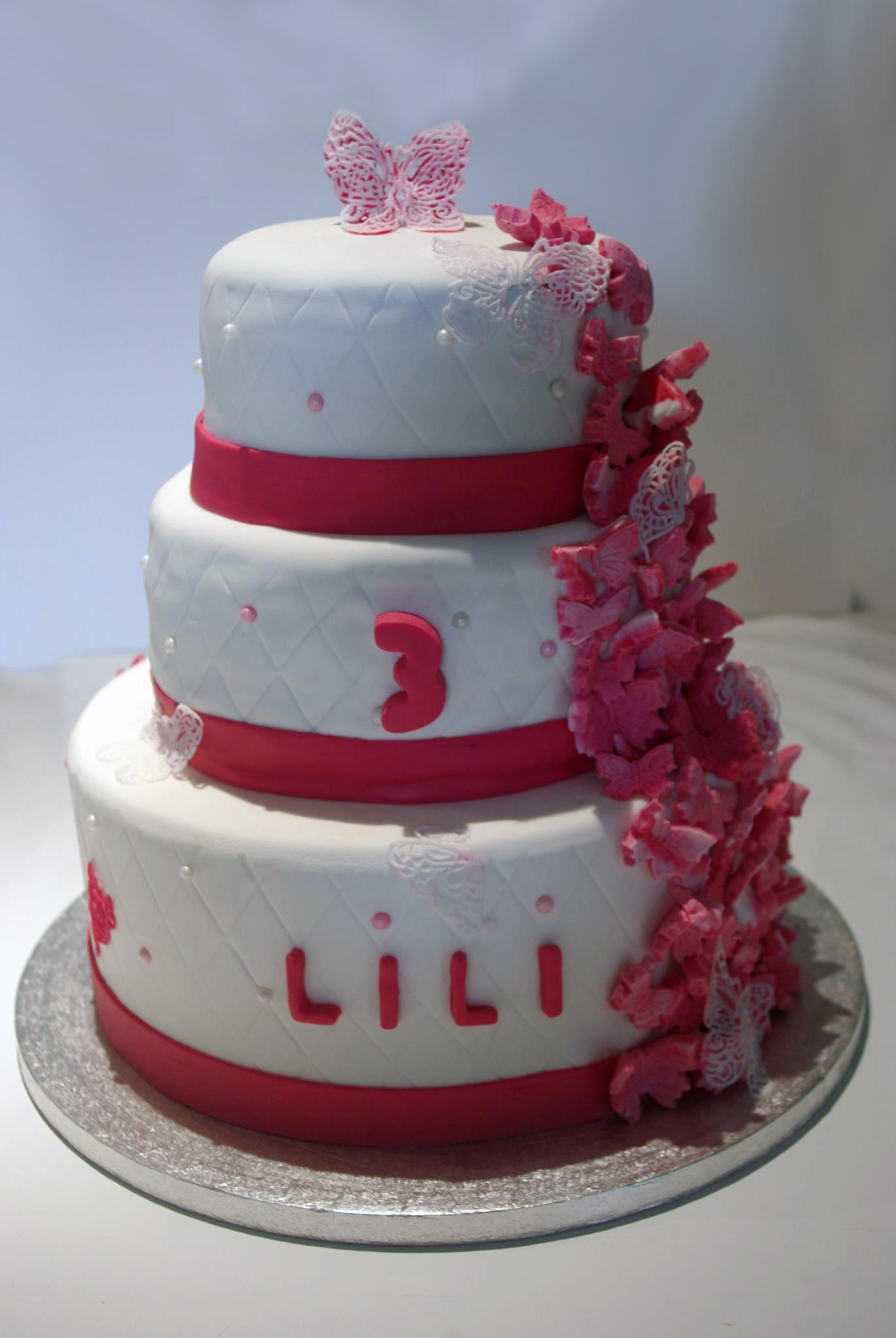 Cake design Lili 3 ans
