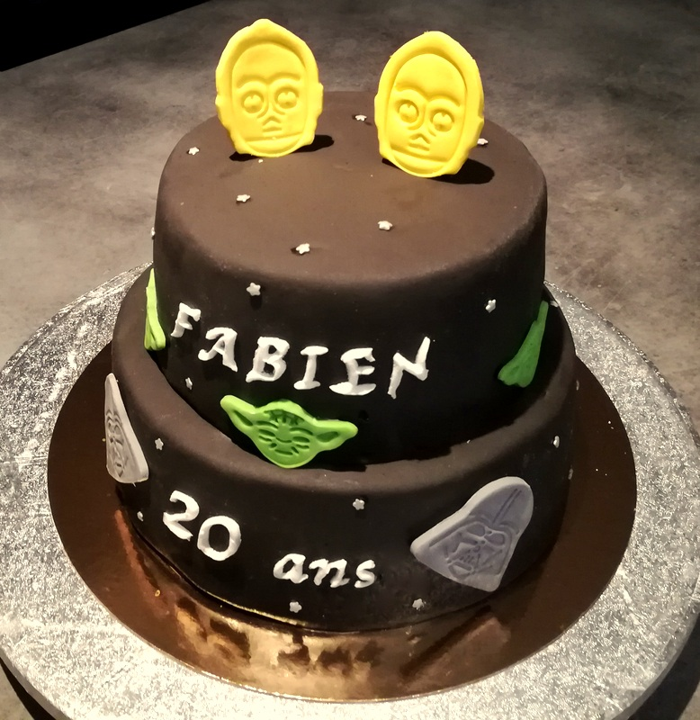cake design 2 étages