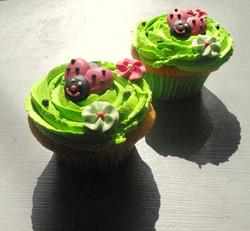 Cupcakes printemps