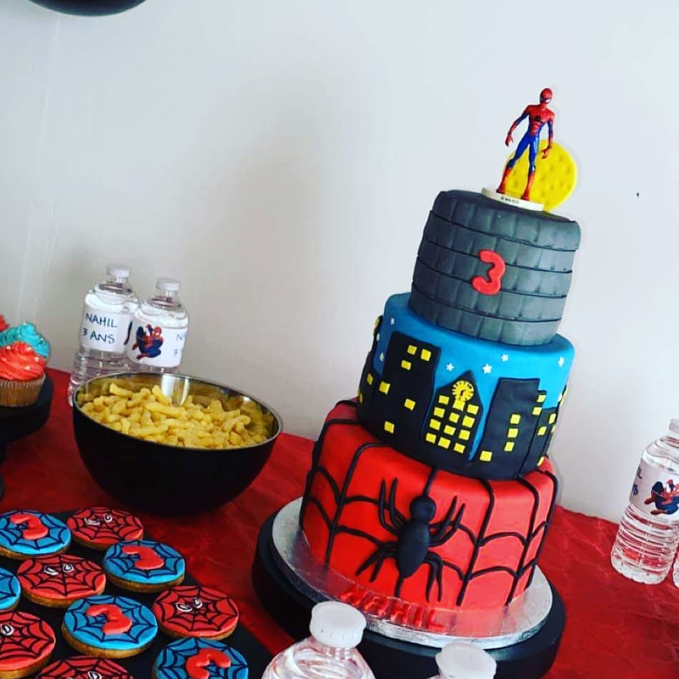 anniversaire spiderman 2