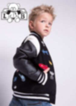 Kid's Velcro Varsity Jacket
