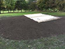Excavation services for golf course contruction