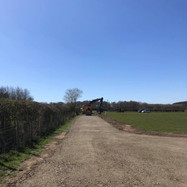 Laying Tarmac and Linking to Existing Road