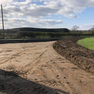 Excavations for New Access Road