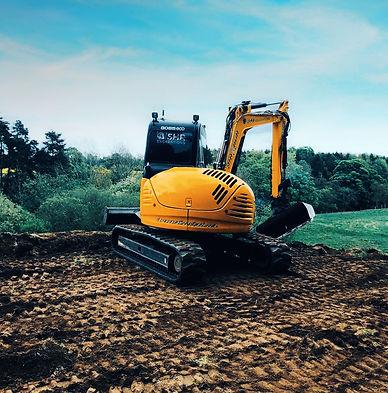 SHR Excavations Digger