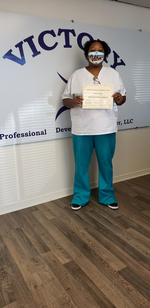 Certified Nursing Assistant (CNA) graduates from our MOWA/Mt. Vernon campus